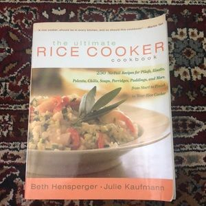 Other - 🛍3/$30 The Ultimate Rice Cooker Cookbook